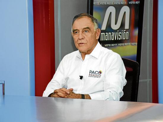 Paco Moncayo: ''El secuestro es una declaración de guerra''