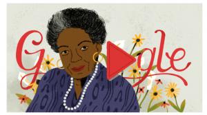 Google dedica un 'doodle' a la poeta y activista afroamericana Maya Angelou