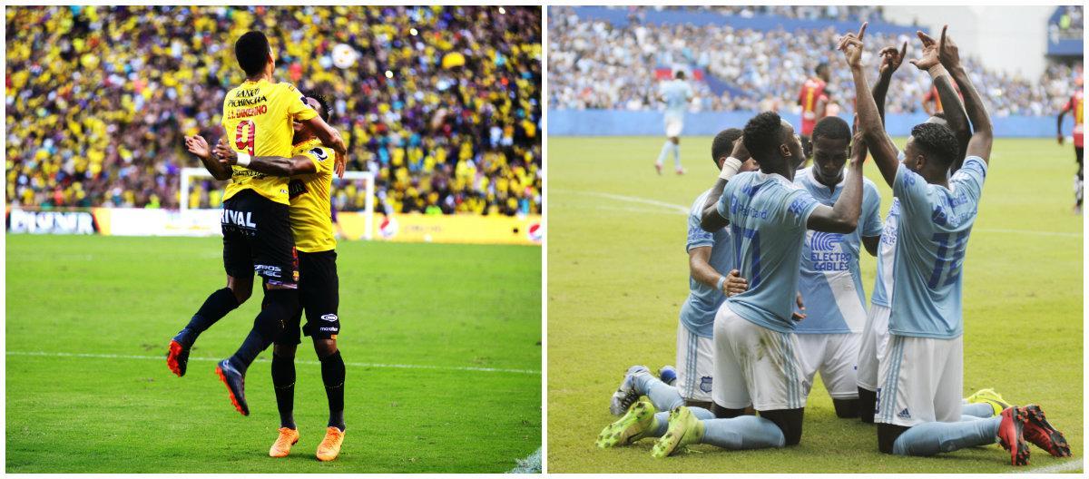 Barcelona y Emelec, el partido más importante de esta fecha en el Campeonato Nacional
