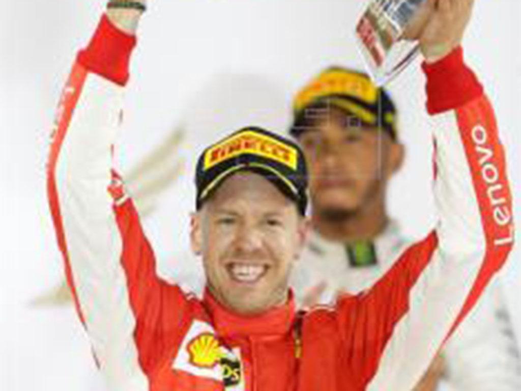 Vettel refuerza su liderato al ganar  en Baréin