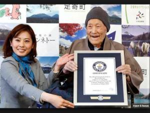 Un japonés de 112 años es ahora el hombre más viejo del mundo