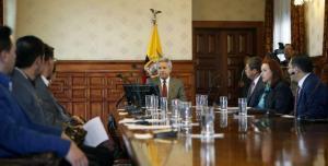Moreno se reúne con su Gabinete por situación de secuestrados