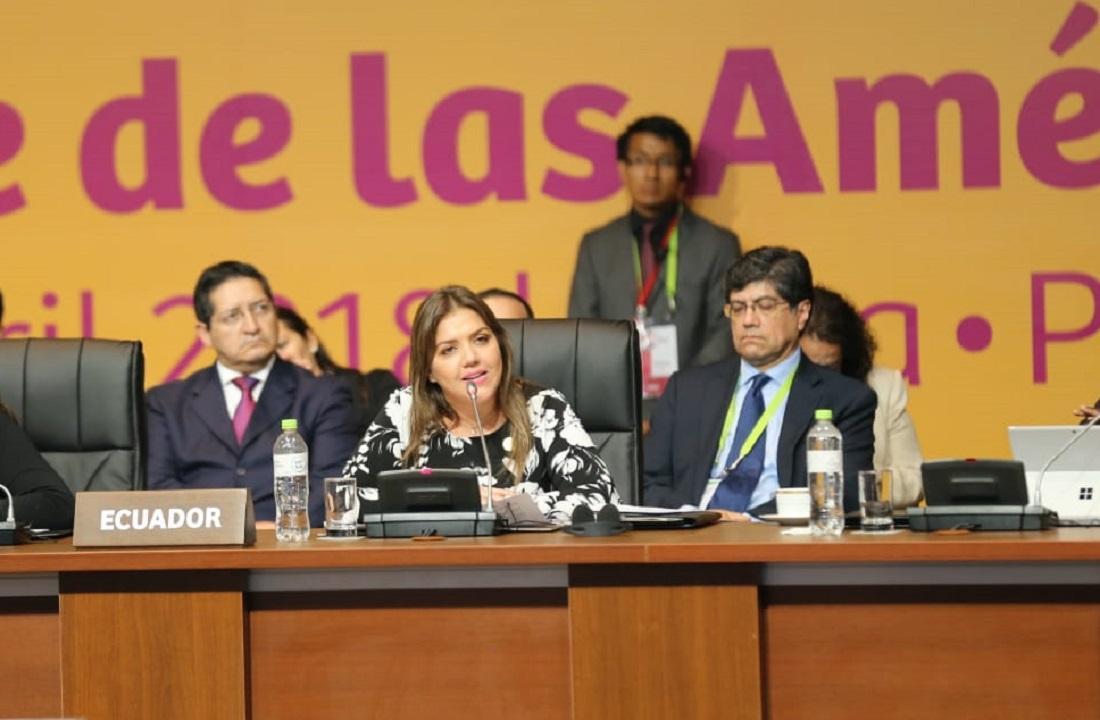 Ecuador en Cumbre de las Américas: Con Correa 'campeaba la corrupción'