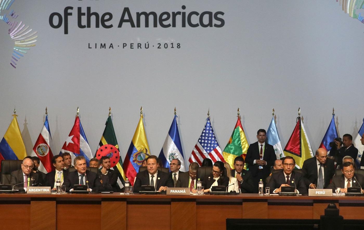 La corrupción ocupa el pronunciamiento de líderes de las Américas