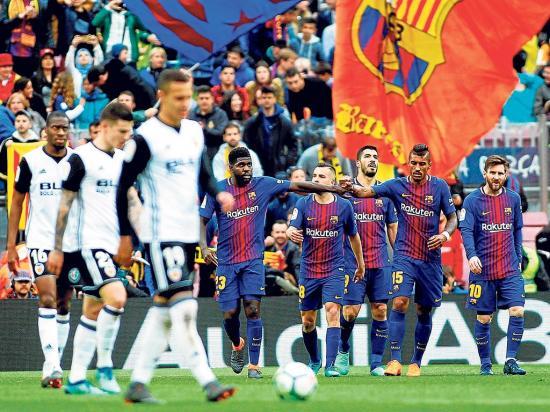 El Barça se repone