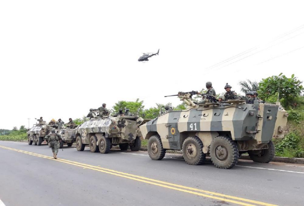 (Actualización) Detenidos los responsables de explosiones en frontera norte