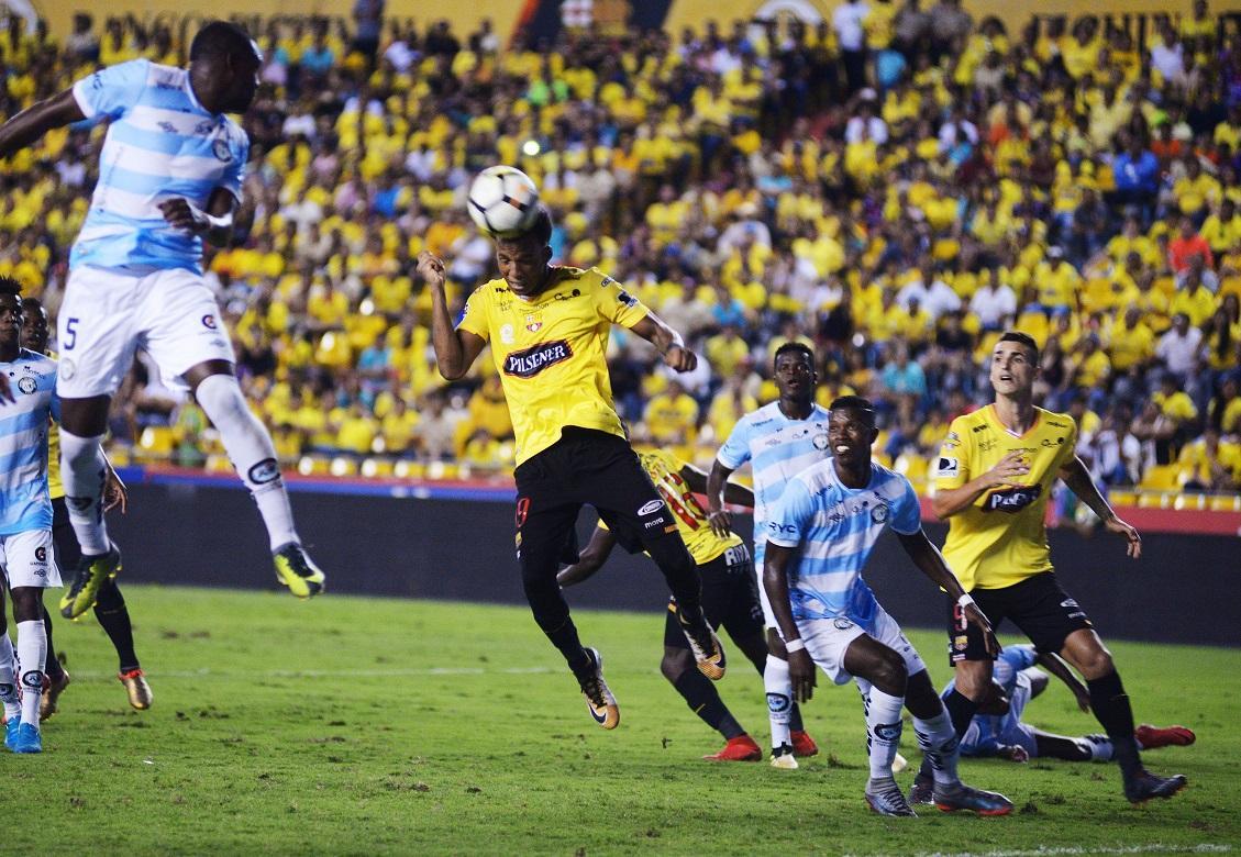Barcelona ganó en los últimos minutos ante el Guayaquil City [1-0] y mantiene su invicto