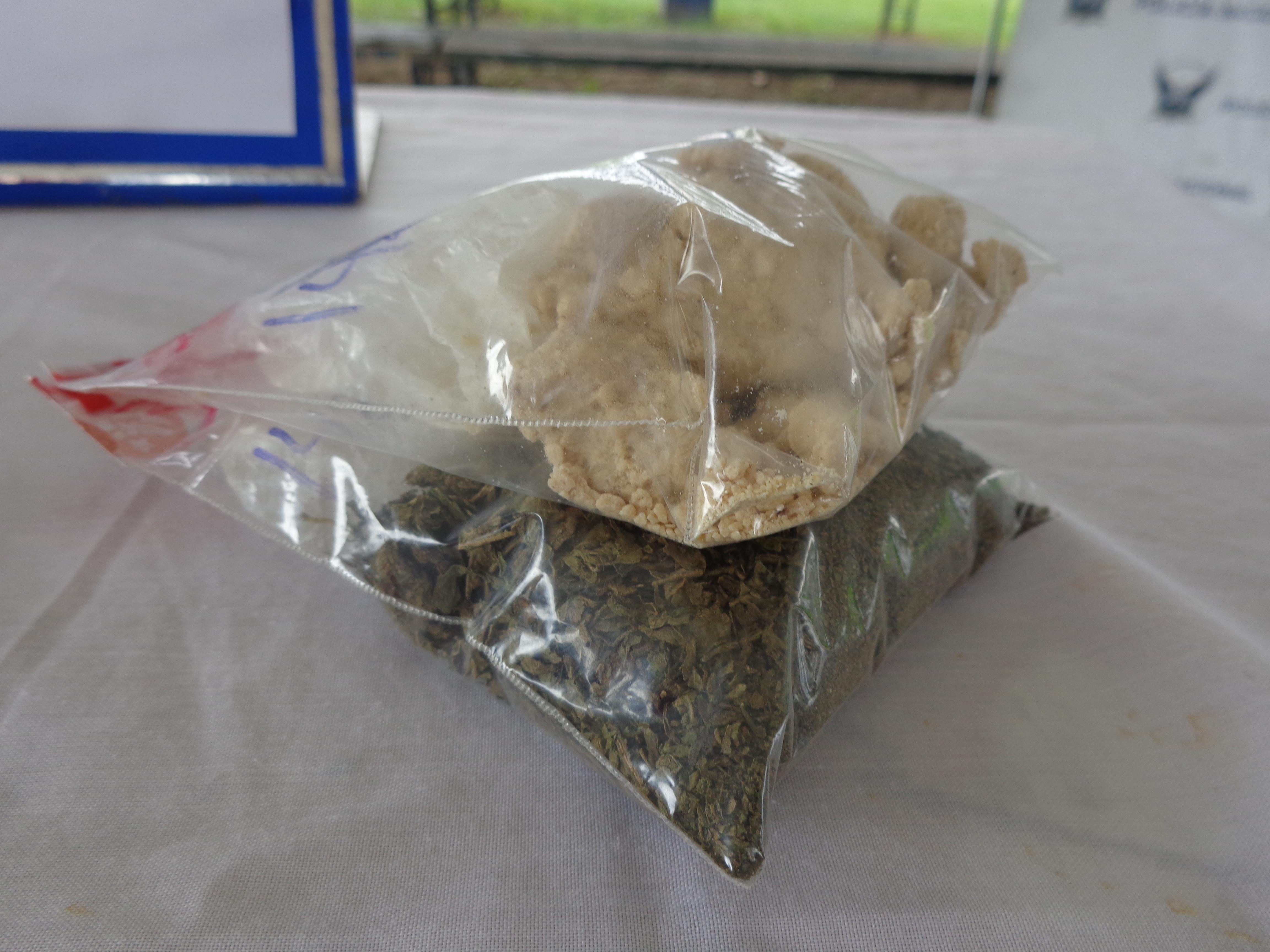 Detenido con 120 gramos de droga