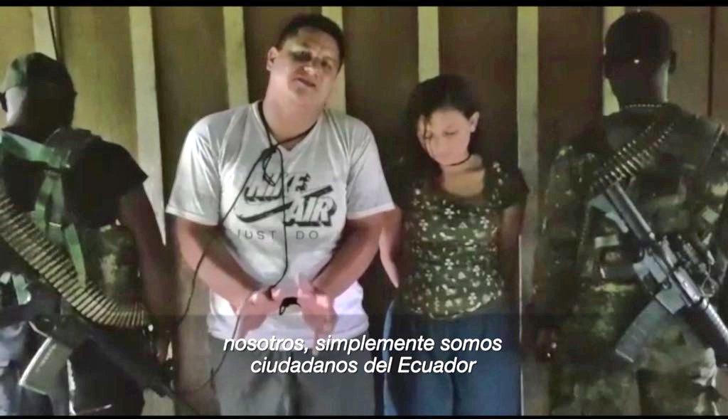 Autoridades de la policía presumen que pareja habría sido secuestrada en Colombia