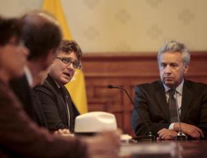 Moreno pide investigar supuesta entrega de dineros de las FARC a expresidente Correa