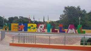 Jipijapa: Colocan letras en la parroquia Membrillal