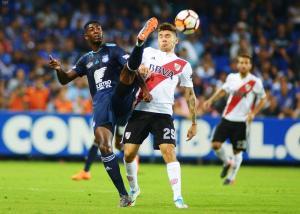 Copa Libertadores: Emelec cae por la mínima diferencia ante River Plate en el estadio Capwell