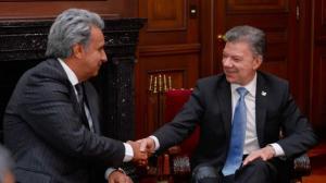 Ecuador ratifica amistad con Colombia, pese a declinar ser garante de paz