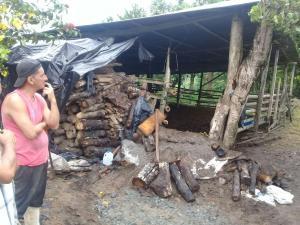 El Carmen: Ladrones tuvieron tiempo hasta de cocinar antes de llevarse lo que más pudieron