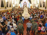 La virgen irá en el Papamóvil