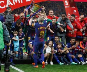 El Barça golea 5-0 al Sevilla y se proclama campeón de la Copa del Rey por trigésima vez