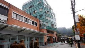 Al menos tres muertos por una explosión de gas en una clínica de Chile