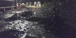 Denuncian un ataque contra oleoducto en Colombia cerca a frontera con Ecuador
