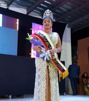 Mabel Delgado fue electa como la nueva reina de Jaramijó