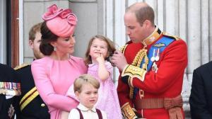 La duquesa de Cambridge, Kate Middleton da a luz a su tercer hijo
