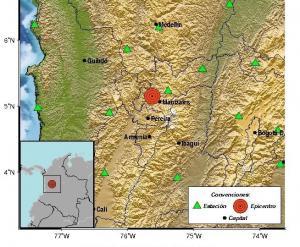 Colombia: Dos sismos de magnitud 6,2 y 5,4 sacudieron el centro de este país