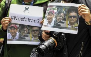 Gobierno colombiano tiene 'disposición' de recuperar cuerpos de periodistas