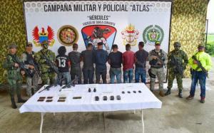Detienen a siete miembros de disidencia FARC liderada por Guacho en Colombia