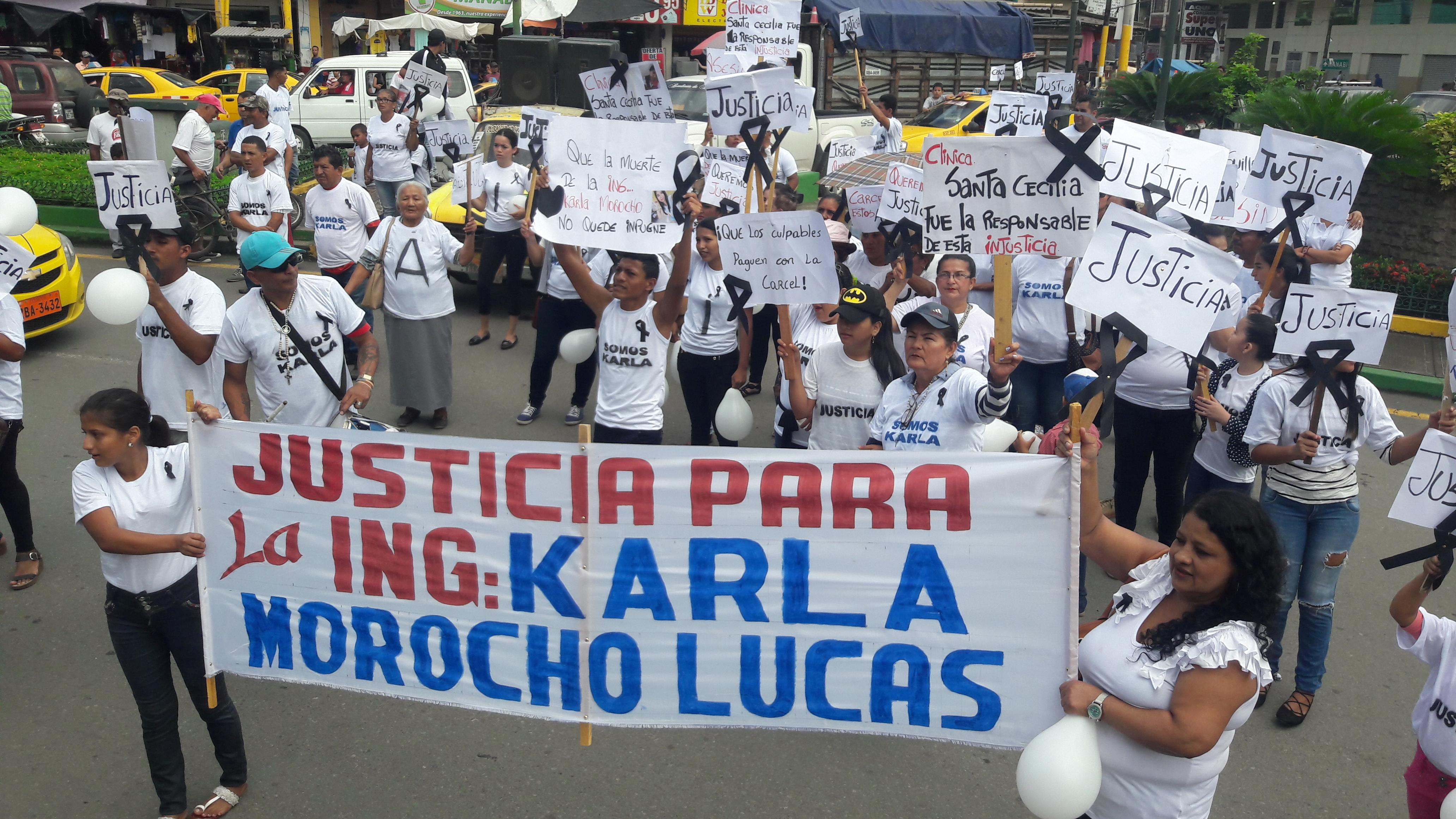 "Justicia para ""Karlita"""