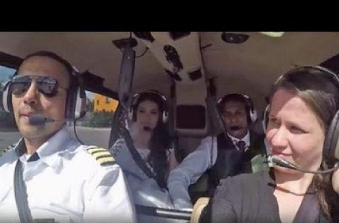 Una novia se casa en Brasil horas después de sufrir accidente de helicóptero