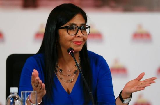 Presidenta de la Asamblea de Venezuela acusa a EE.UU. de violar derecho internacional