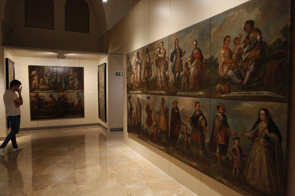 Llegan a Ecuador dos cuadros del Museo de América de Madrid tras dos siglos