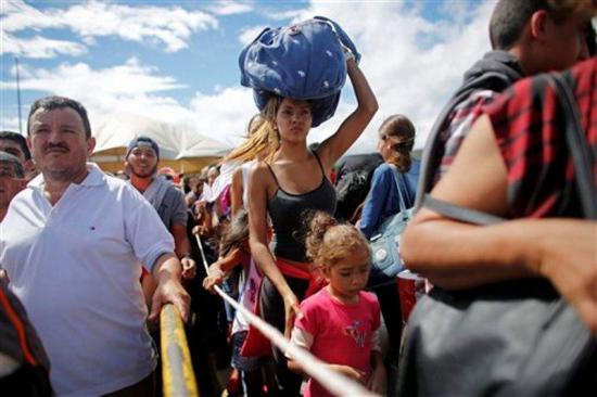 Refugiados venezolanos sufren altos niveles de malnutrición, según Cruz Roja