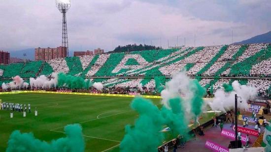 Supuestos hinchas del Atlético Nacional protagonizan desmanes en Manta