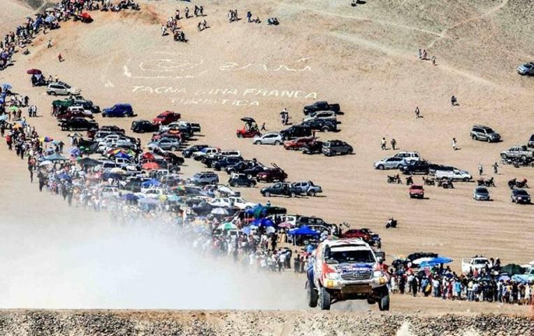 Bolivia anuncia que no participará en el rally Dakar en 2019
