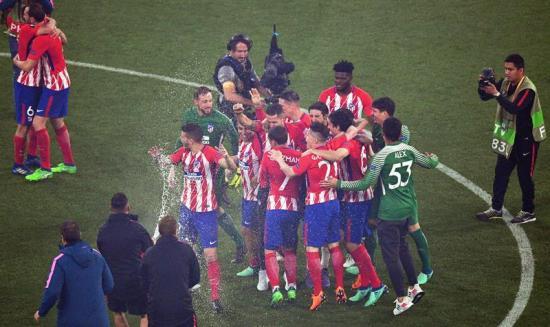 El Atlético de Madrid suma su tercer título de la Europa League