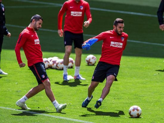 Atlético y Marsella en final de presión