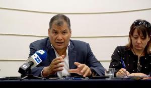 Rafael Correa cree que ''Latinoamérica ha vuelto a tener presos políticos'' con Jorge Glas