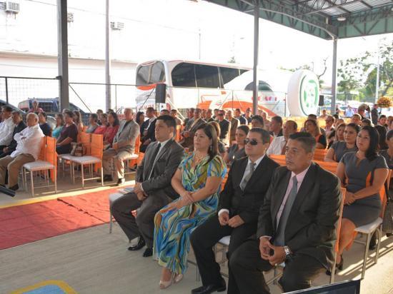 La compañía de transporte Coactur inauguró su  nueva terminal ejecutiva