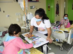 Las clases van al hospital