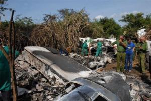 Cuba recuperó una caja negra 'en buenas condiciones' del avión accidentado