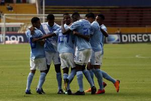 Emelec supera 2 a 0 al Independiente del Valle que aún no sale del bache