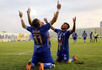 Delfín se impone con 3 goles a 1 frente al Técnico Universitario