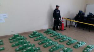 Carchi: Ocho colombianos detenidos en operativo que decomisó cocaína