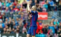 Andrés Iniesta es despedido en el Camp Nou con una fiesta a la altura de la leyenda