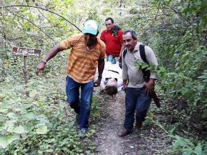 Guías naturalistas de San Vicente y Sucre se capacitan en primeros auxilios