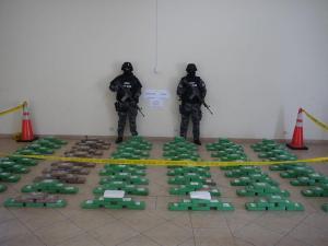 Incautan 319 kilos de cocaína que tendría como destino EEUU y Europa