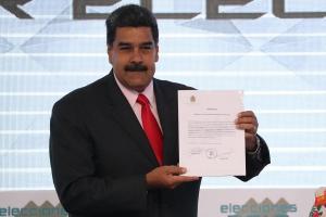 Nicolás Maduro es proclamado como presidente reelegido hasta el 2025