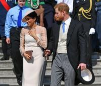 Los duques de Sussex acuden a su primer acto oficial como marido y mujer