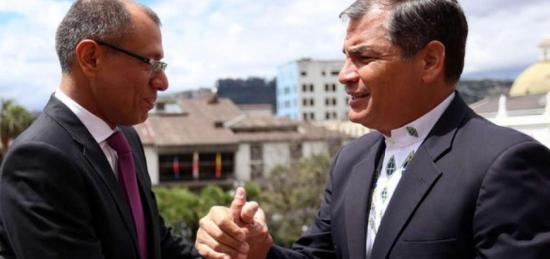 Gobierno retira seguridad a expresidente Correa y al exvicepresidente Jorge Glas