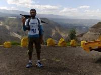 Javier Martín Lopez empieza otra travesía que llegará hasta Bolivia